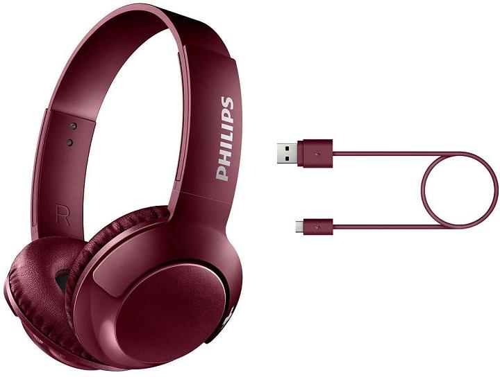 Наушники Philips SHB3075RD 00 Red - купить в Киеве ☛ цены на Allo ... ef107e22fac4c