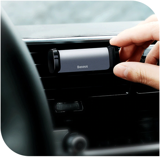 Фото 2 Baseus Steel Cannon Air Outlet Car Mount