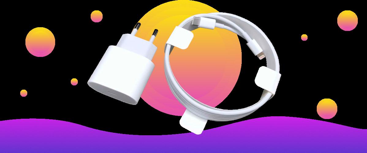 Фото 1 Apple 20W USB-C Power Adapter (MHJE3ZM/A) White