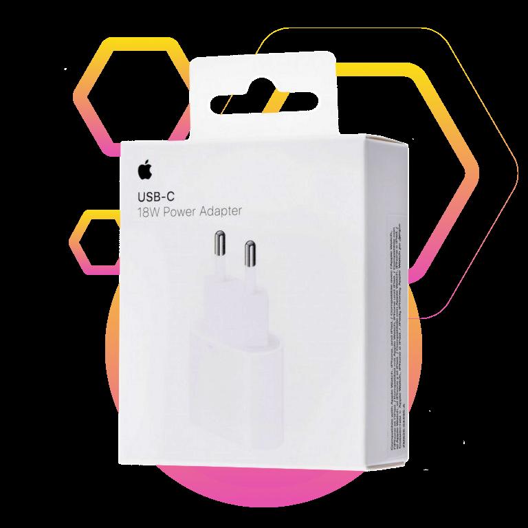 Фото 3 Apple 20W USB-C Power Adapter (MHJE3ZM/A) White