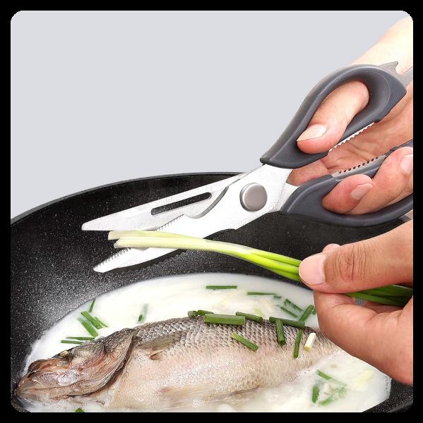 Фото 5 Кухонные ножницы Huohou HU0062