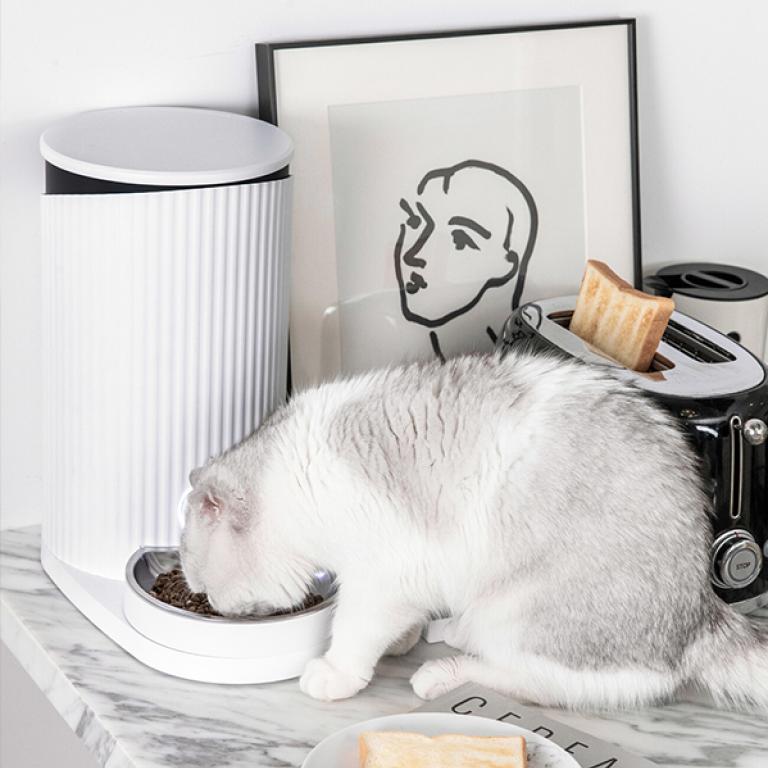 Фото 7 Смарт кормушка для домашних животных Xiaomi