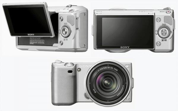 Sony NEX-5K Kit 18-55 mm - суперкомпактная цифровая камера со сменной...