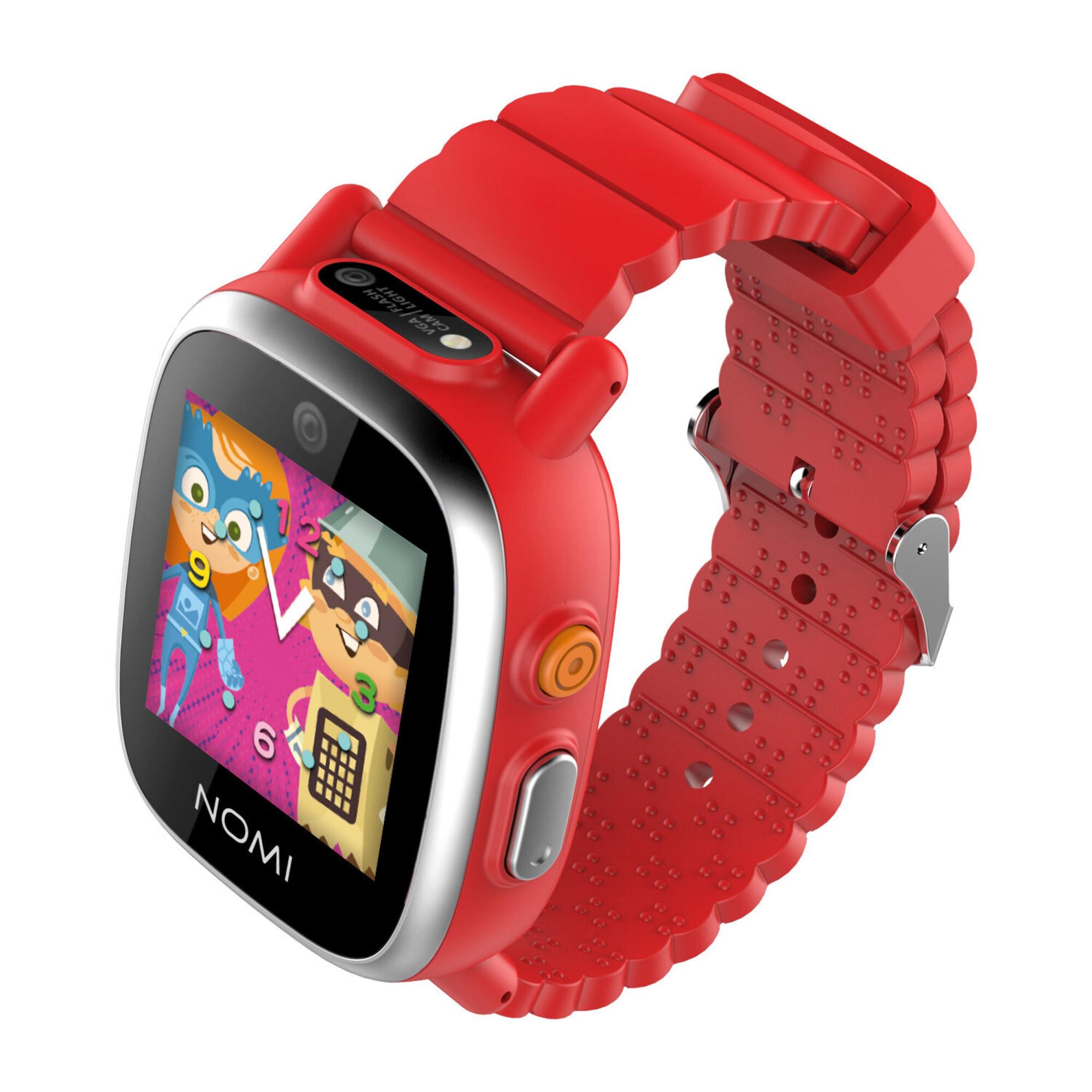 Смарт-часы Nomi Kids Heroes W2 Red - купить в Киеве ☛ цены на Allo ... 8a4bedde9c216