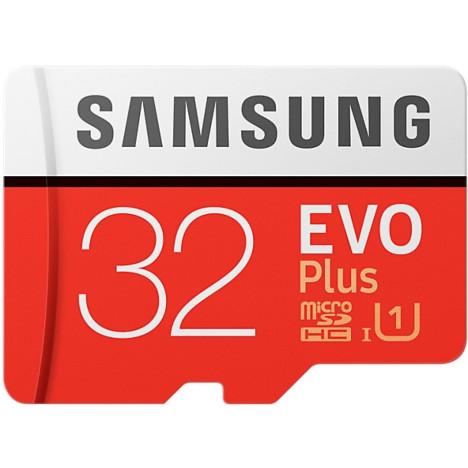 Карта памяти <b>Samsung EVO Plus</b> microSDHC UHS-I 32GB сlass10 ...