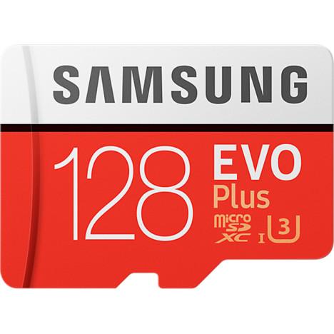Карта памяти <b>Samsung EVO Plus</b> microSDXC UHS-I 128GB ...