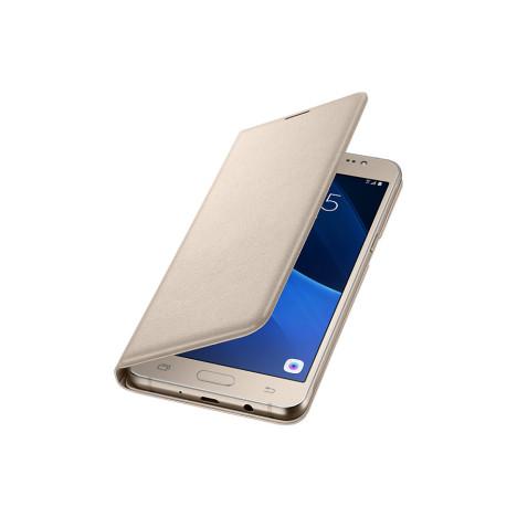 Samsung Flip Wallet Gold для Galaxy J5 2016 J510 (EF-WJ510PFEGRU)