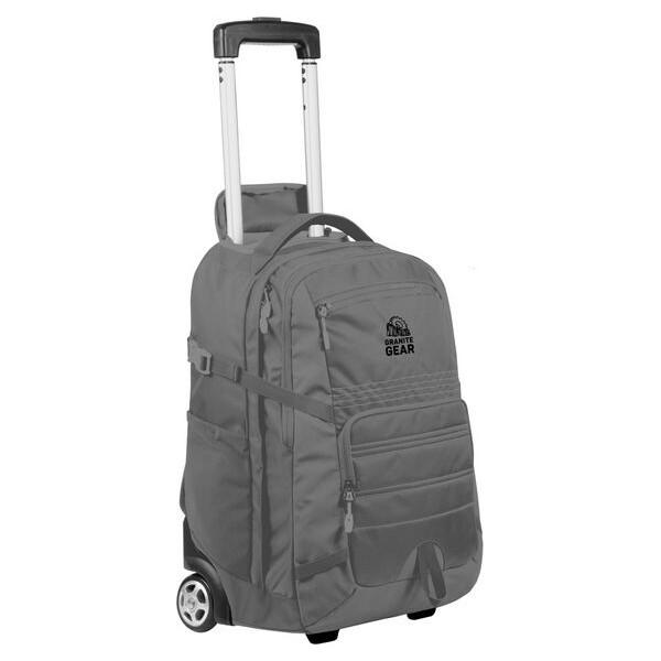 Сумки дорожные, -рюкзак на колесах Granite Gear Trailster Wheeled 40 Flint/Black (927320)  - купить со скидкой