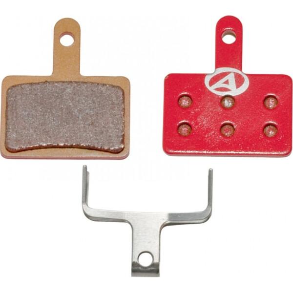 Купить Тормозные колодки для велосипеда, тормозные дисковые колодки ABS-23S Shi B01, металл, красные (24504250), Author