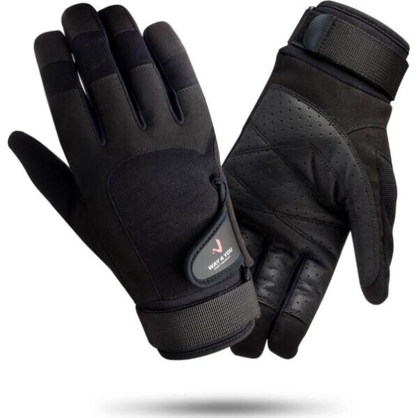 Перчатки для Кроссфит тренировок Way4you Мужские - M (w-2076-M)