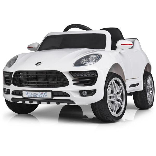 Купить Детские электро- и веломобили, Электромобиль Bambi Машина M 3178EBLR-1 белый