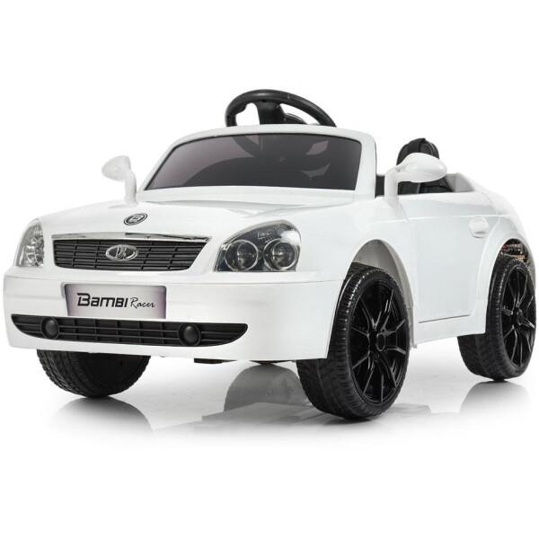 Купить Детские электро- и веломобили, Электромобиль Bambi Машина M 4106EBLR-1 белый