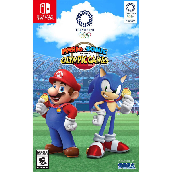 Купить Игры, для Nintendo Switch Mario & Sonic at the Olympic Games Tokyo 2020, SEGA
