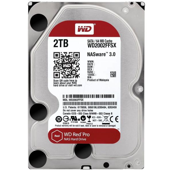 Western Digital Red Pro WD2002FFSX (2TB 7200rpm 64MB 3.5