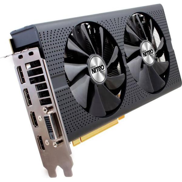 AMD / Sapphire Pci-Ex Radeon Rx 480 Nitro+ Oc 8Gb Gddr5 (256Bit) (1208/8000) (Dvi, 2 X Hdmi, 2 X Displayport) (11260-01-20G) (Rx480)