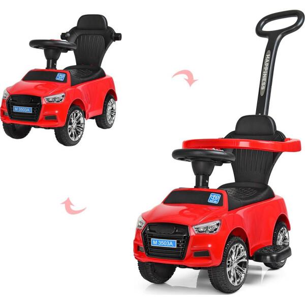 Купить Детские качалки, каталки, Каталка-толокар Bambi Audi M 3503A(MP3)-3 Red (M 3503A(MP3))