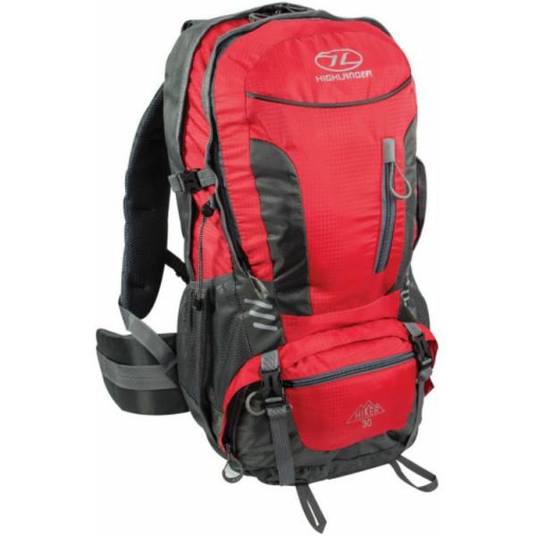 Купить Рюкзаки, туристический Highlander Hiker 30 Red (925503)