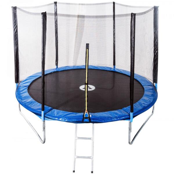 Купить Батуты, Atleto 252 см с сеткой+лестница (20000800) (2481)