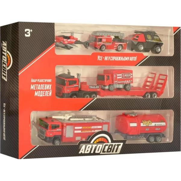 Купить Машинки, техника игровая, Набор машинок Limo toys AS-1980 (AS-1980-2)