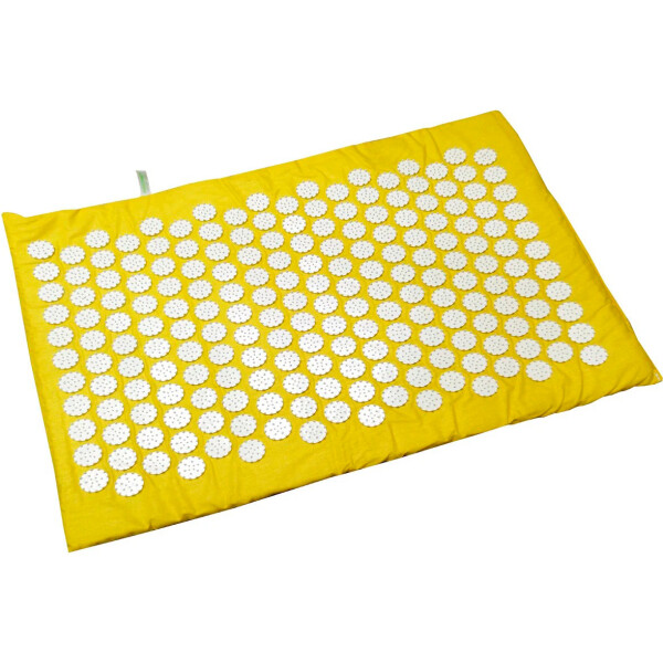 Купить Массажеры, Массажный коврик Onhillsport Релакс аппликатор Кузнецова Релакс 55 х 40 см Желтый (MS-1251-9)