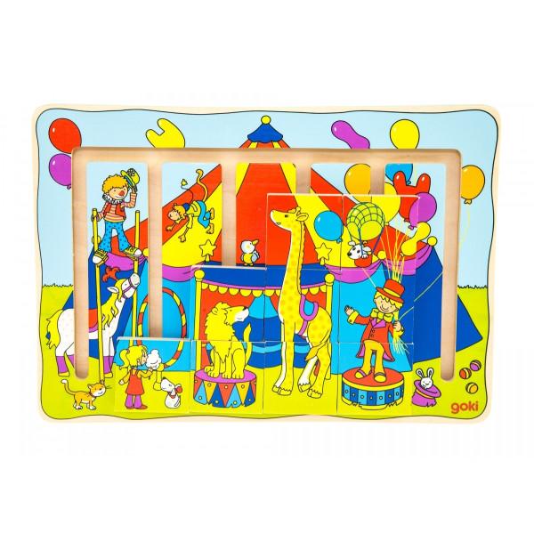 Купить Пазлы, Головоломка goki Цирковое шоу (57595)