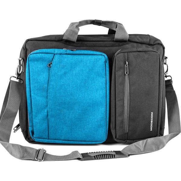 Купить Сумки для ноутбуков, Modecom Reno 15.6 Blue (TOR-MC-RENO-BLU)