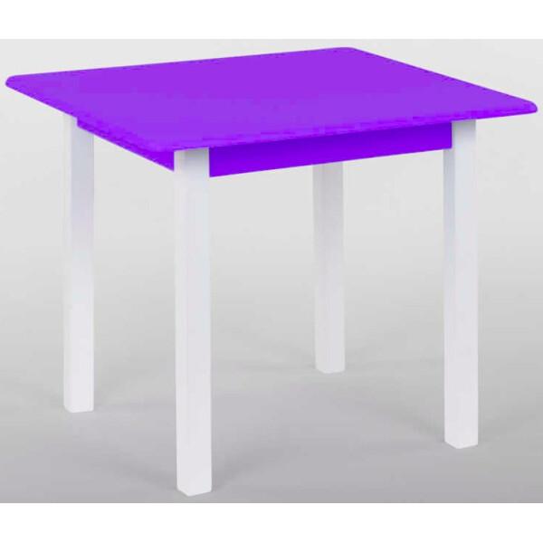 Купить Детские письменные столы, парты, Столик Small Toys Игруша Small 60х60 см Фиолетовый (2-79847)