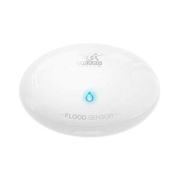 Купить Датчики для дома, Умный датчик протечки воды Fibaro Flood Sensor, Z-Wave, 3V CR123A, 12-24V DC, белый