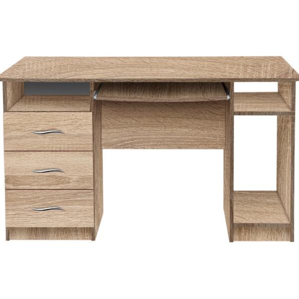 Купить Компьютерные столы, МАКСИ-МЕбель Кент (плюс) 1300*750*700 Дуб сонома (8084), Макси