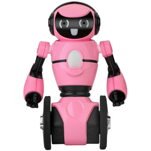 Купить Радиоуправляемые модели, Робот на радиоуправлении WL Toys F1 с гиростабилизацией (розовый)