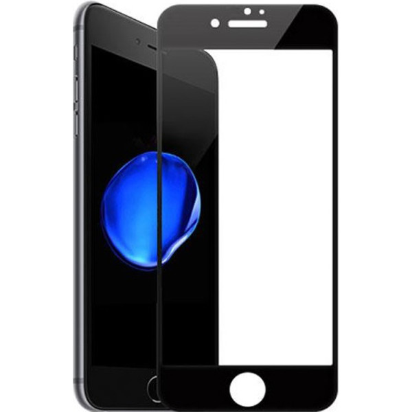 Curved Glass на iPhone 7 Plus 5D Black