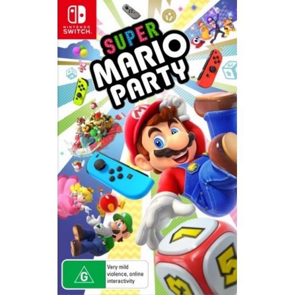 Купить Игры, Nintendo Switch Super Mario Party (русская версия)