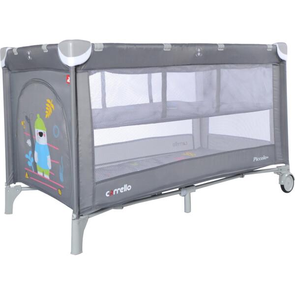 Купить Манежи, Манеж-кровать CARRELLO Piccolo+ CRL-9201/2 Ash Grey со вторым дном