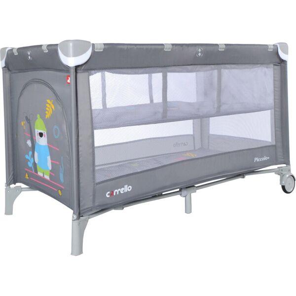 Купить Манежи, Кровать-манеж со вторым дном Carrello Piccolo+ CRL-9201/2 Ash Grey