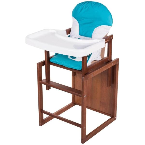 Купить Стульчики для кормления, Стульчик- трансформер For Kids Бук-04 темный бирюза 74577