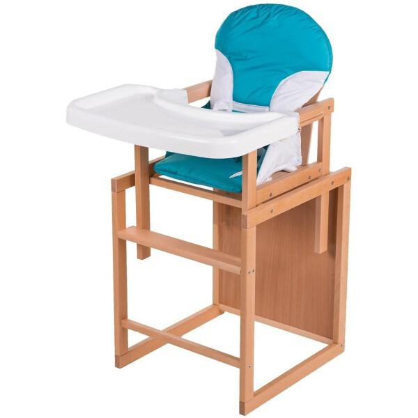 Купить Стульчики для кормления, Стульчик- трансформер For Kids Бук-02 светлый бирюза 74576