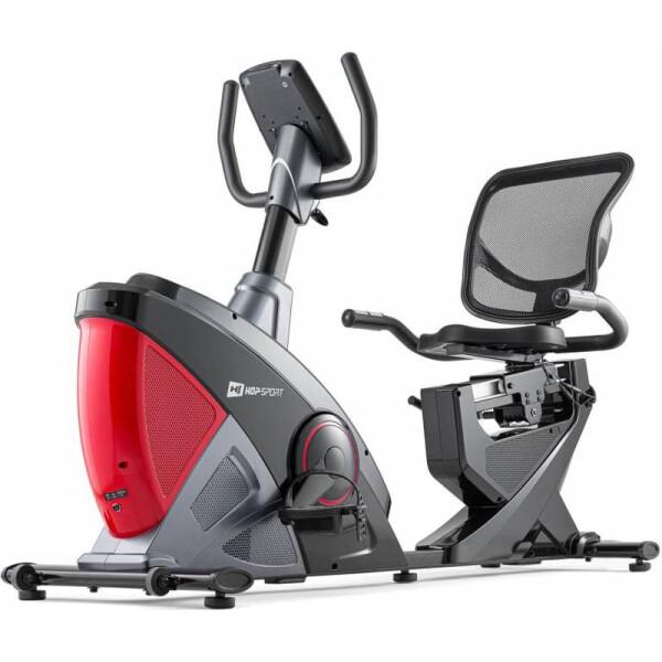 Купить Велотренажеры, Горизонтальный Hop-Sport HS-070L Helix iConsole+ red (5902308220003)