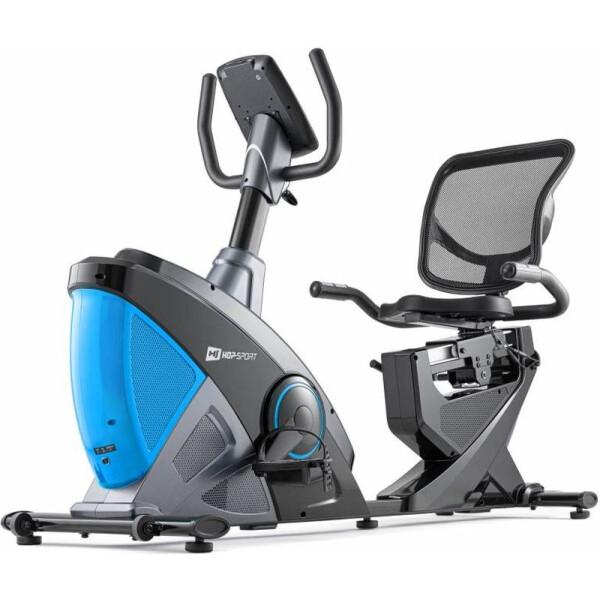 Купить Велотренажеры, Горизонтальный Hop-Sport HS-070L Helix iConsole+ blue (5902308220010)