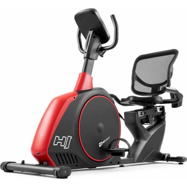 Купить Велотренажеры, Горизонтальный Hop-Sport HS-095L Scale Black+ мат (5902308219427)