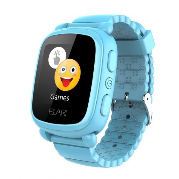 Купить Смарт-часы, Elari KidPhone 2 Blue с GPS-трекером (KP-2BL)