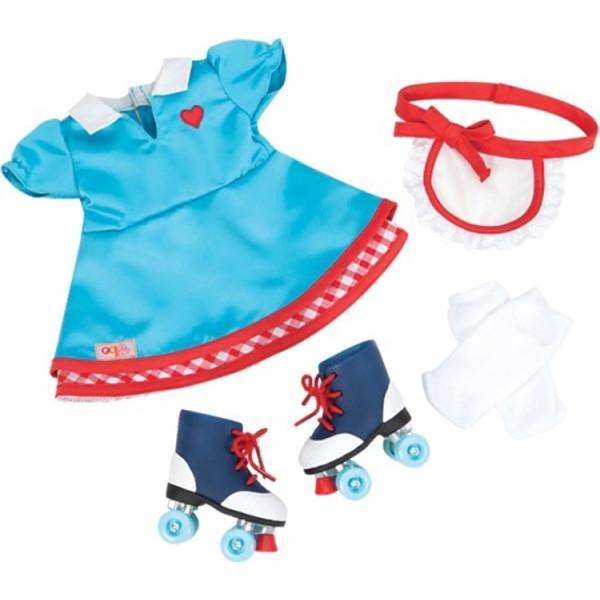 c98628803b3052 Набір одягу для ляльок Our Generation Deluxe Стильний шкіряний жакет ...