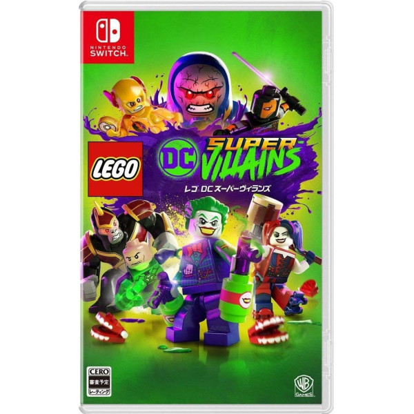 Купить Игры, для Nintendo Switch Lego DC Super-Villains (русские субтитры), TT Games