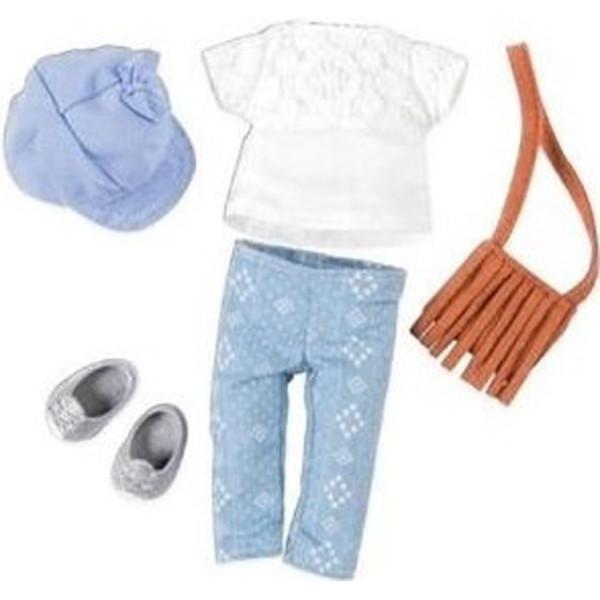 Купить Куклы, наборы для кукол, Набор одежды для кукол LORI с сумкой LO30022Z