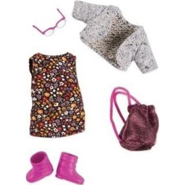 Купить Куклы, наборы для кукол, Набор одежды для кукол LORI Платье с цветами LO30021Z
