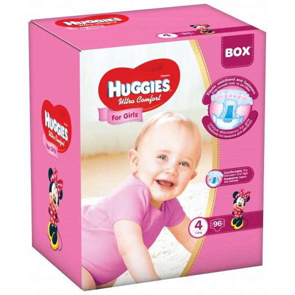 077dbc34dc49 Huggies Ultra Comfort Girl 4   96 pcs - купить подгузники  цены ...