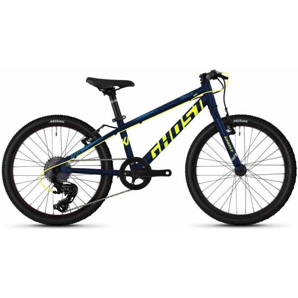 """Велосипед Ghost Kato R1.0 20"""", сине-желтый, 2020 (65KA1118)"""