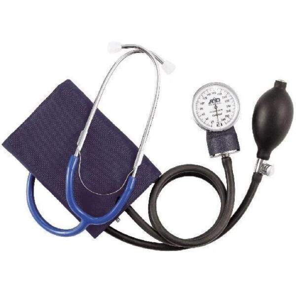 Купить Тонометры, Механический тонометр для измерения артериального давления AND UA-100 со встроенным стетоскопом