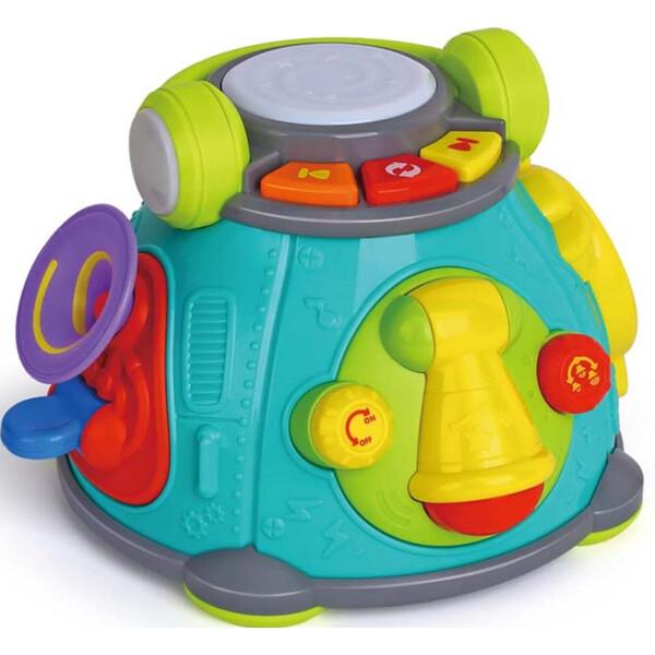 Купить Игрушки для самых маленьких, Игрушка Hola Toys Капсула караоке(3119)