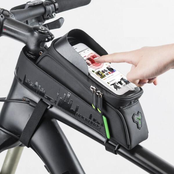 Купить Велосумки, для велосипедов маленькая на раму RockBros (SUMKA-NA-RAMU-1)