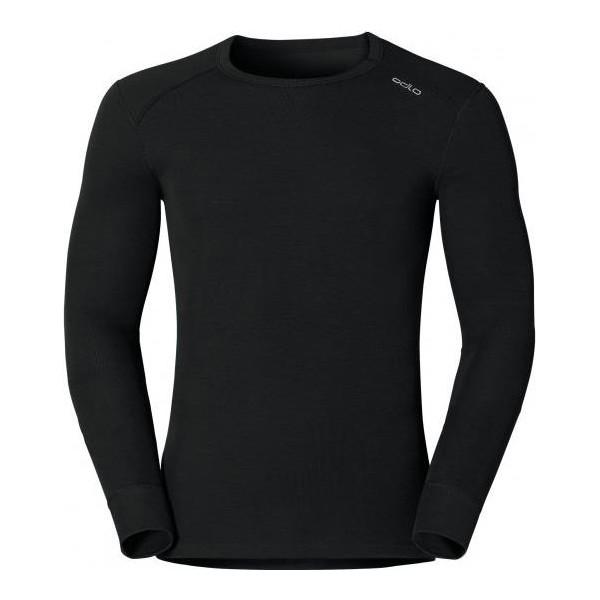 Термобелье ODLO Shirt l/s crew neck WARM black L